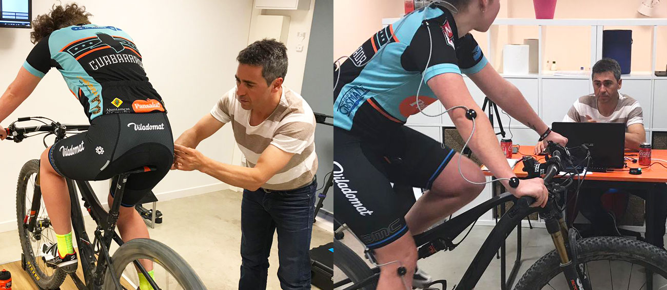 Estudi biomecànic de Ciclisme a Tàrrega Lleida